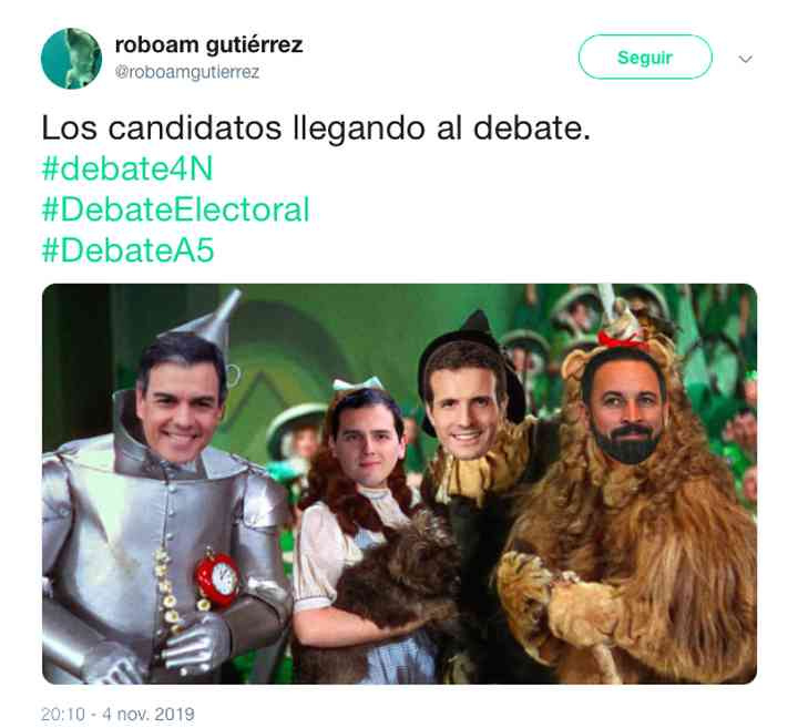 Memes del debate electoral, los 35 mejores 16