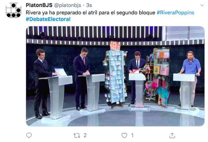 Memes del debate electoral, los 35 mejores 22