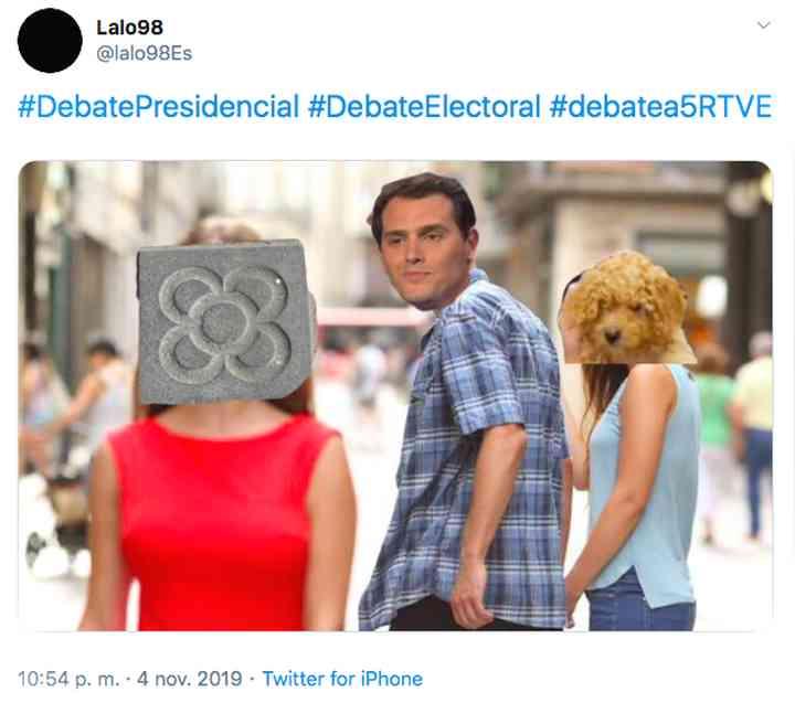 Memes del debate electoral, los 35 mejores 28