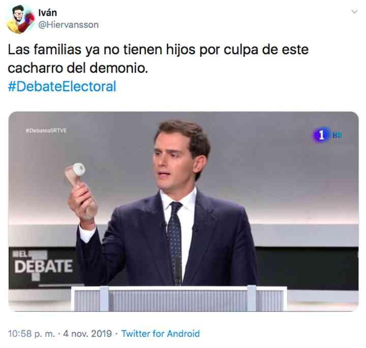 Memes del debate electoral, los 35 mejores 35