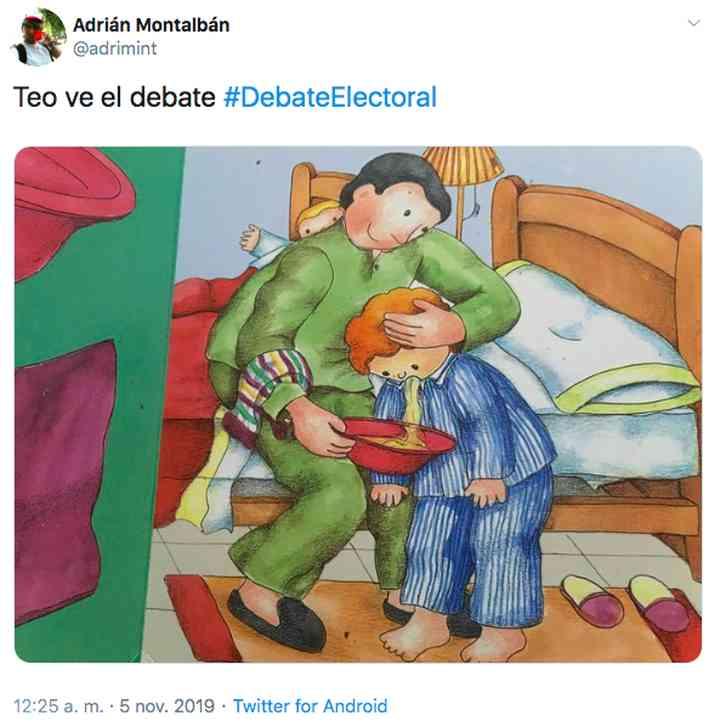Memes del debate electoral, los 35 mejores 3
