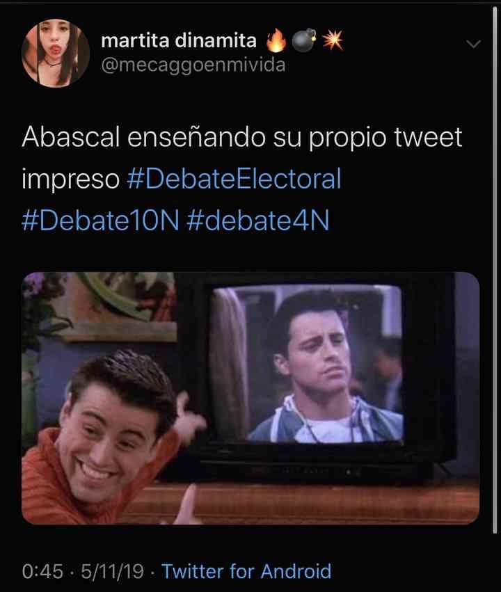 Memes del debate electoral, los 35 mejores 9