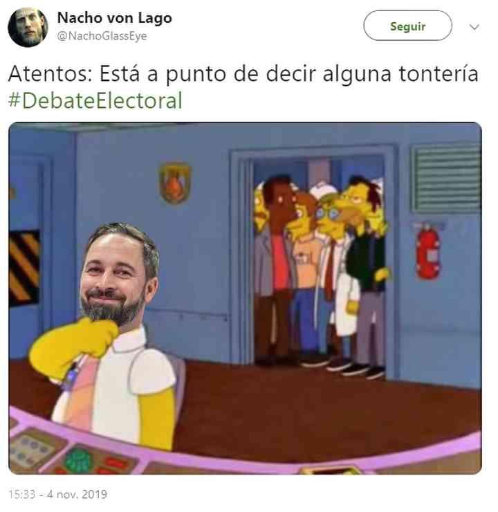 Memes del debate electoral, los 35 mejores 14