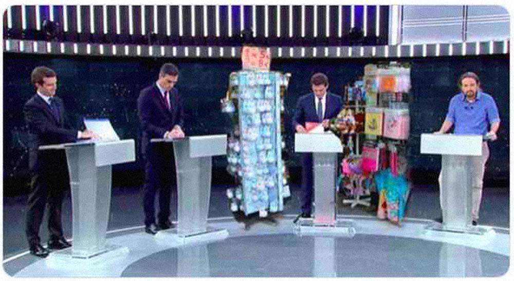 Memes del debate electoral, los 35 mejores 1