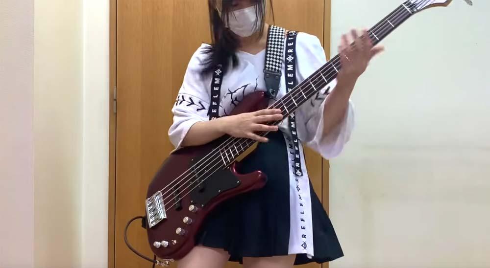 Cover de Alien Alien de Hatsune Miku tocado con un bajo 5