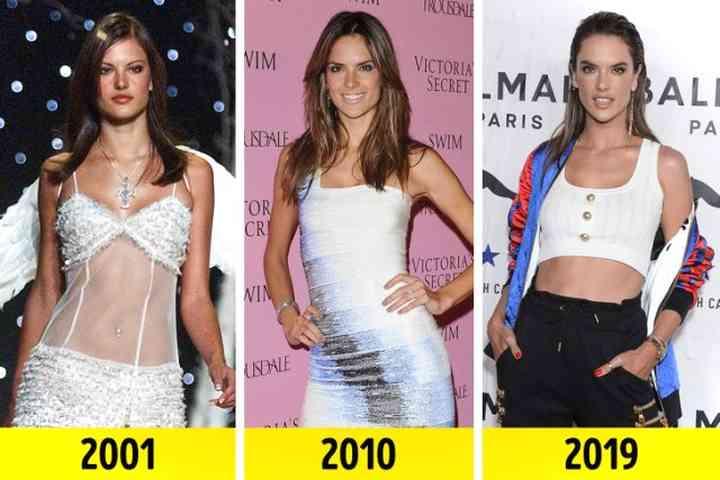 Así ha pasado el tiempo para estas Ángeles de Victoria's Secret 8