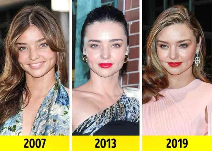 Así ha pasado el tiempo para estas Ángeles de Victoria's Secret 10