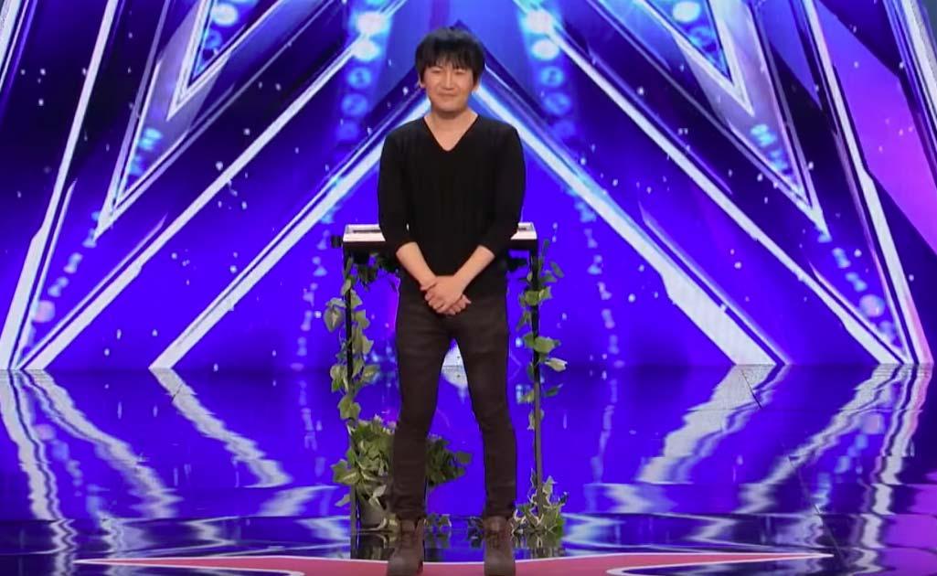 El maravilloso numero de magia de Will Tsai en Got Talent 2