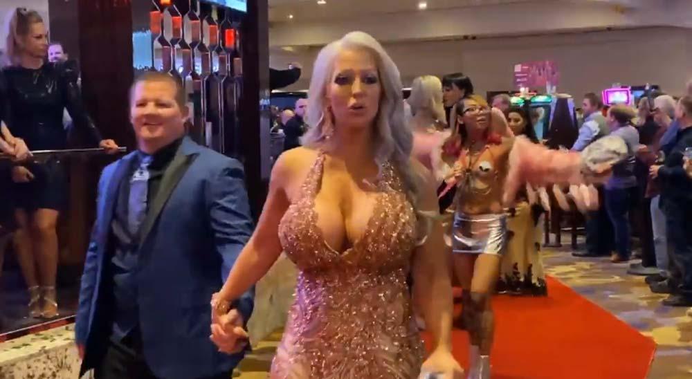 La alfombra roja de los premios AVN 2020 7
