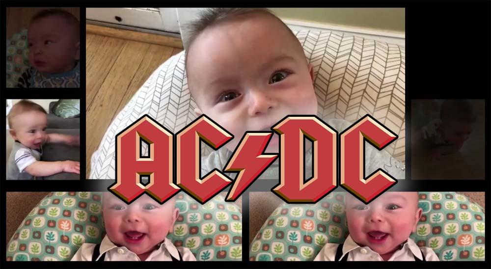 Usa los sonidos de su bebé para hacer un cover de Thunderstruck de AC/DC 14