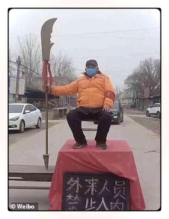 Los aldeanos Chinos fortifican pueblos para evitar que entre gente infectada [Vídeos y fotos] 6