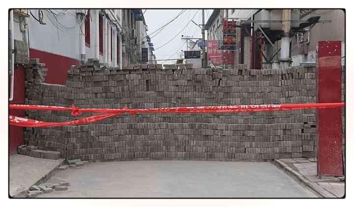 Los aldeanos Chinos fortifican pueblos para evitar que entre gente infectada [Vídeos y fotos] 10