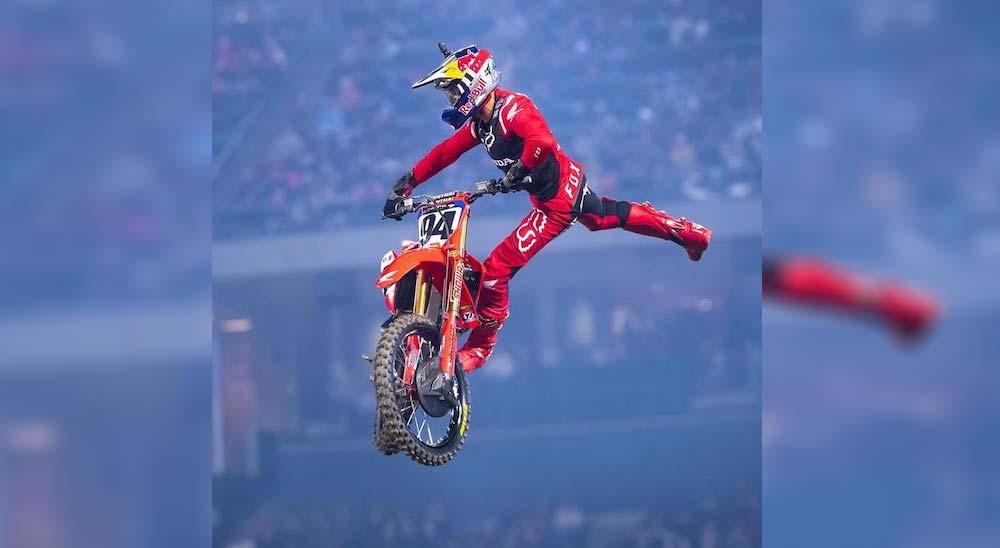 Sube a la moto de Ken Roczen y vive en primera persona el Monster Energy Supercross 2020 1
