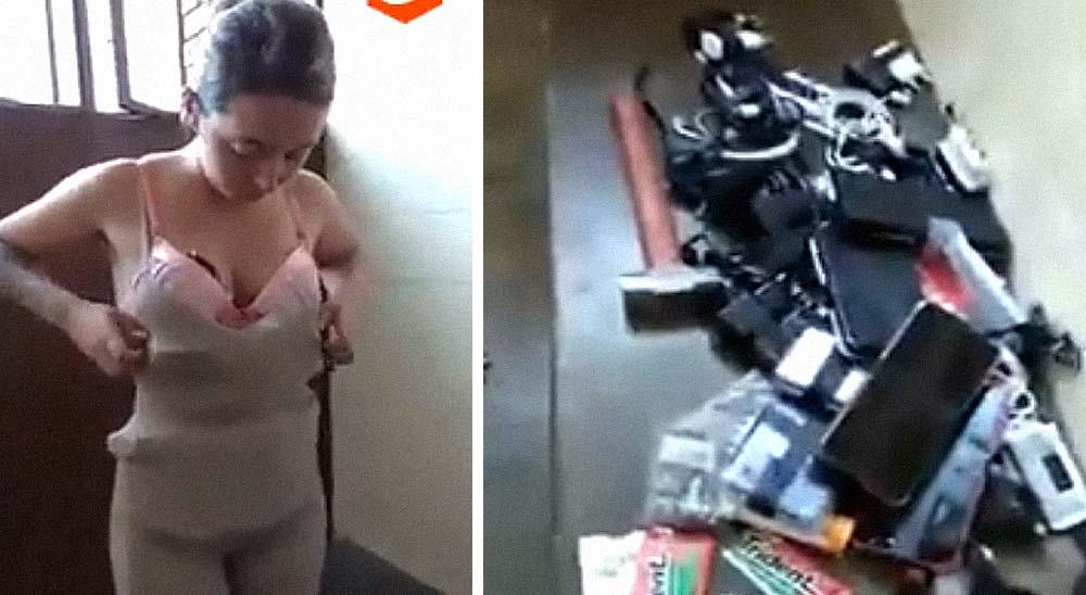 Una mujer es pillada intentando colar todo tipo de cosas en una cárcel 3