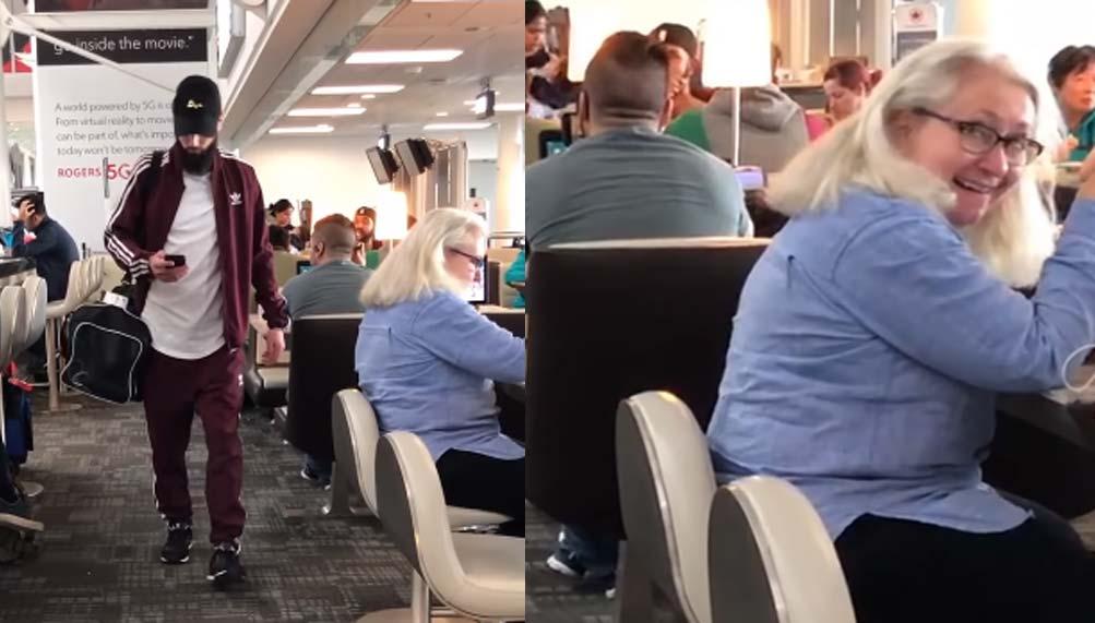 Broma de los pedos en el Aeropuerto 1
