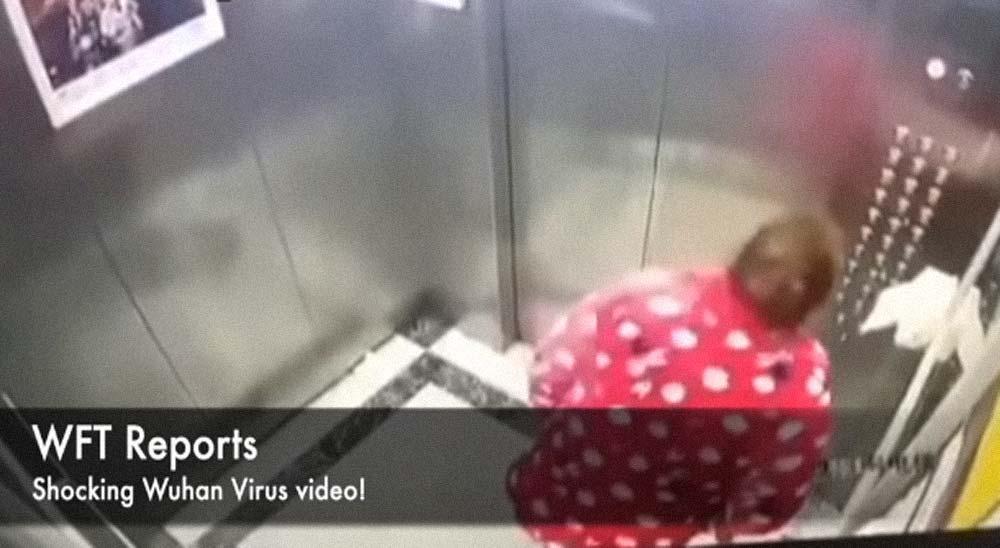 China: Una mujer escupe en los botones del ascensor para contagiar el coronavirus 5