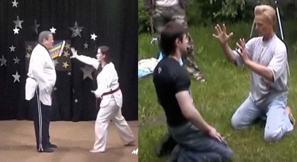 Vídeo sobre Artes Marciales un poco fakes 19
