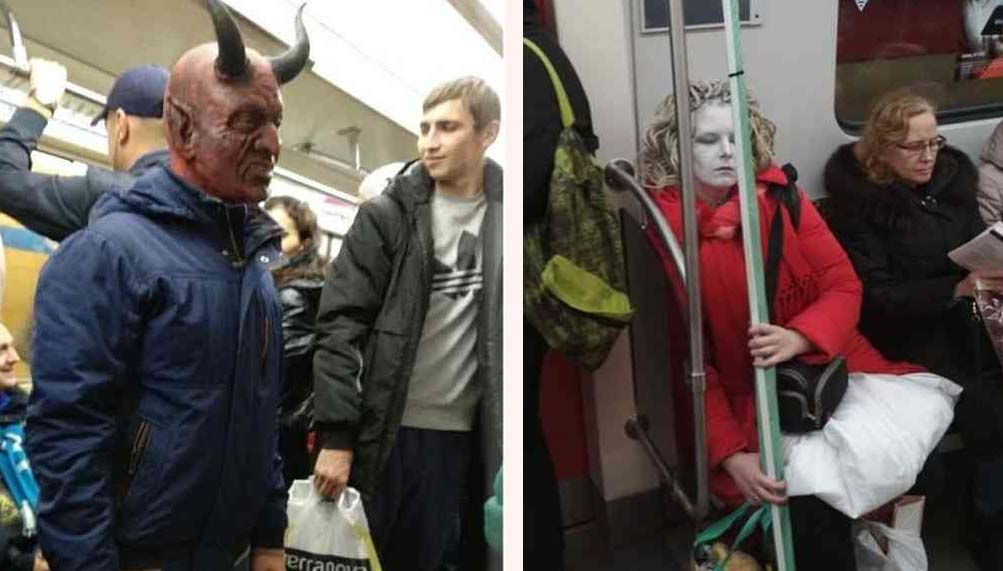 13 Sorprendentes personas encontradas en el Metro 18