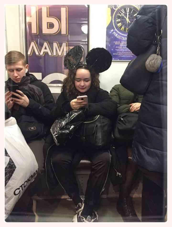 13 Sorprendentes personas encontradas en el Metro 7