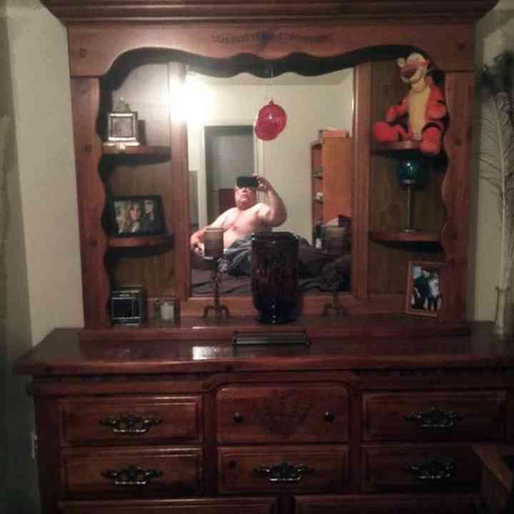 20 divertidas fotos de personas que intentan vender un espejo 17
