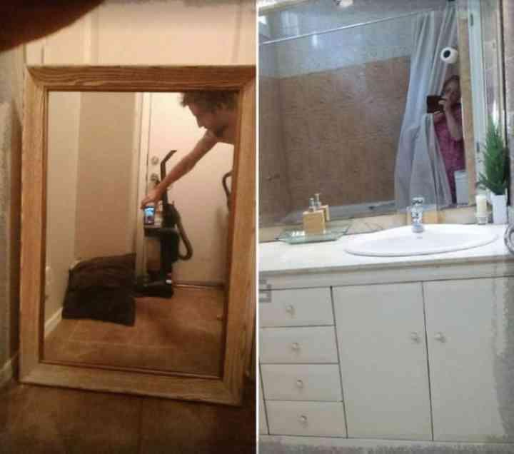 20 divertidas fotos de personas que intentan vender un espejo 2