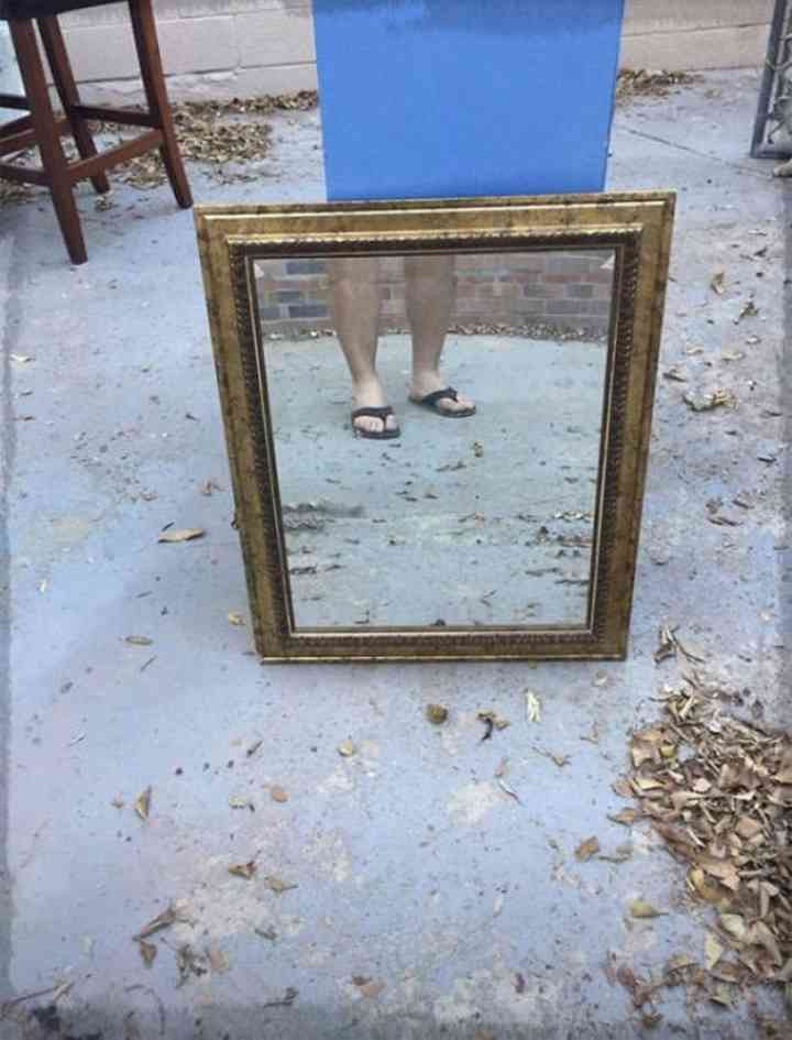 20 divertidas fotos de personas que intentan vender un espejo 6