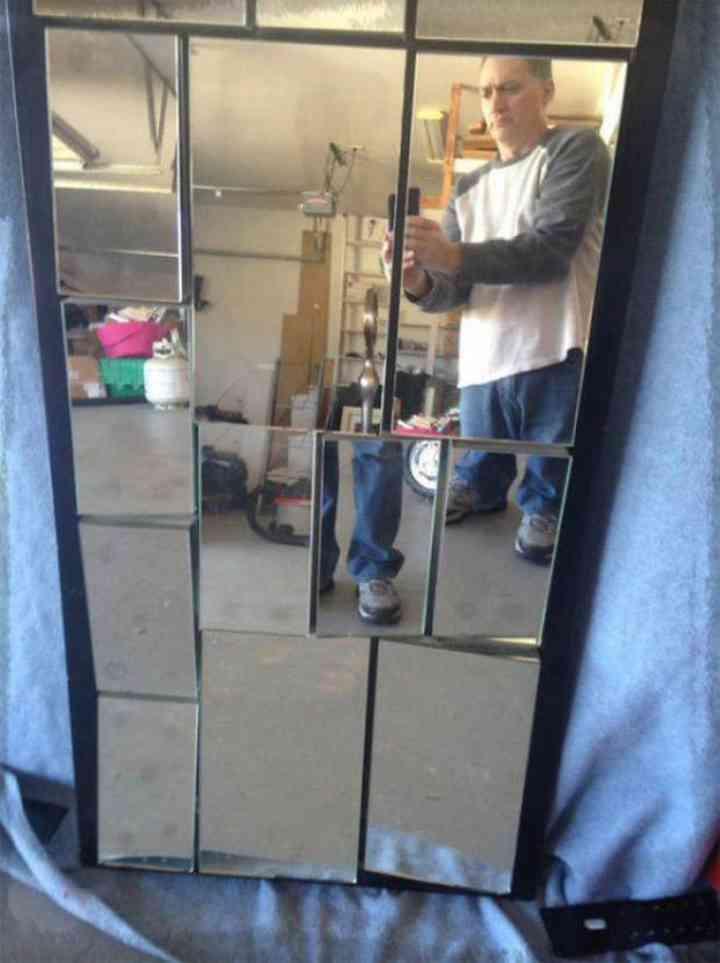 20 divertidas fotos de personas que intentan vender un espejo 8