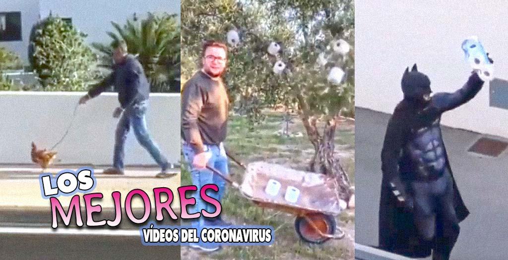 Los vídeos más divertidos de la cuarentena por coronavirus 3