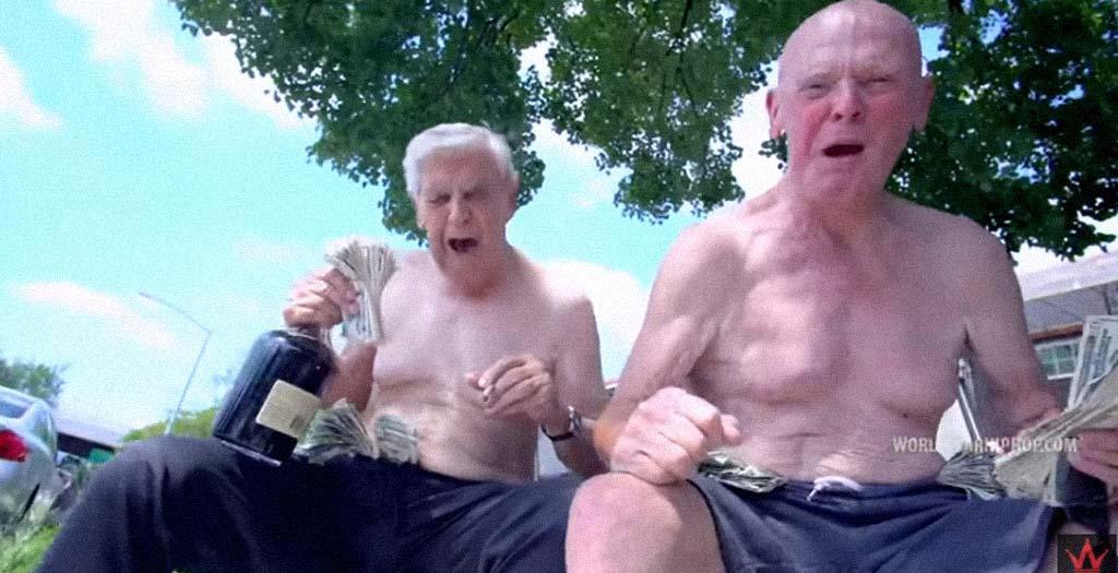 Frank y Maury, una pareja de raperos de 75 y 92 años 7