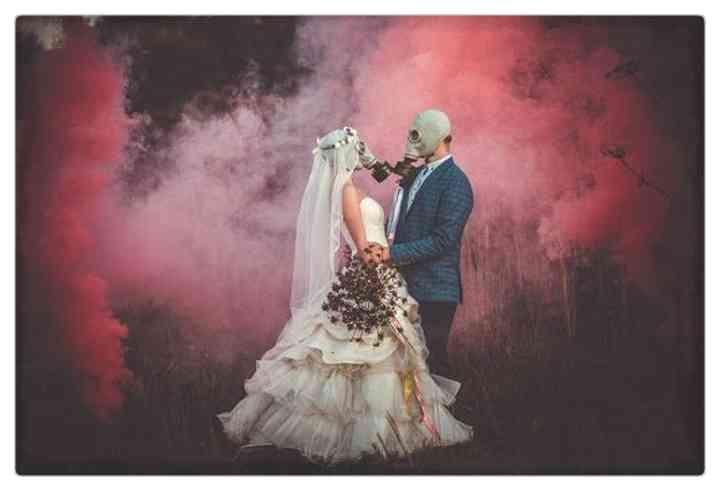 15 Parejas que han decidido casarse en plena pandemia 3