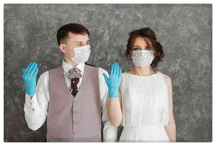 15 Parejas que han decidido casarse en plena pandemia 12