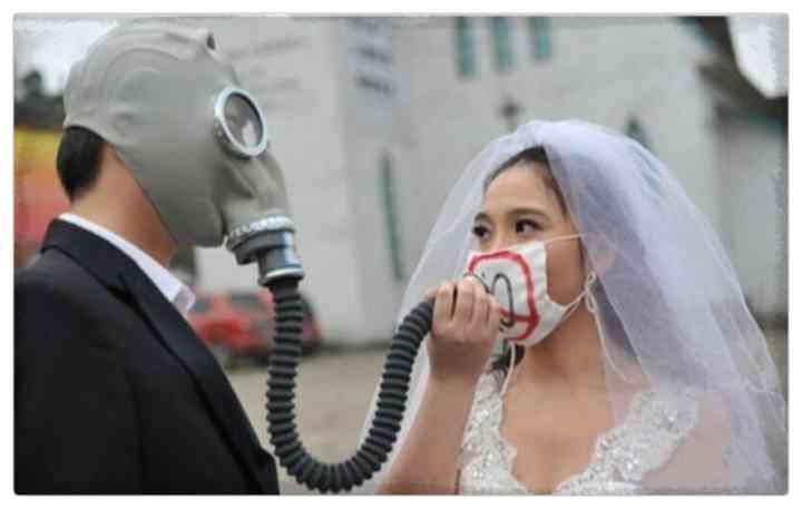 15 Parejas que han decidido casarse en plena pandemia 16