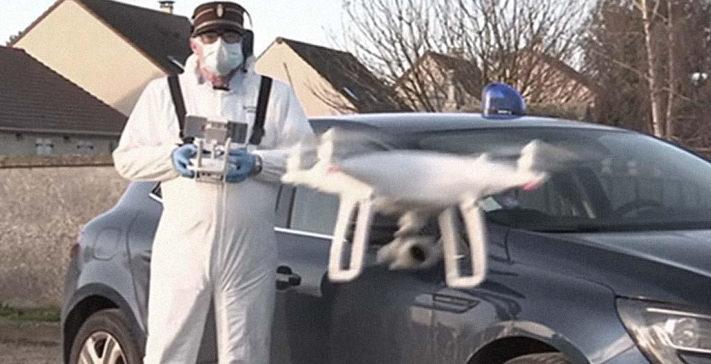 Drones con termómetro anal, lo ultimo para luchar contra el virus 2