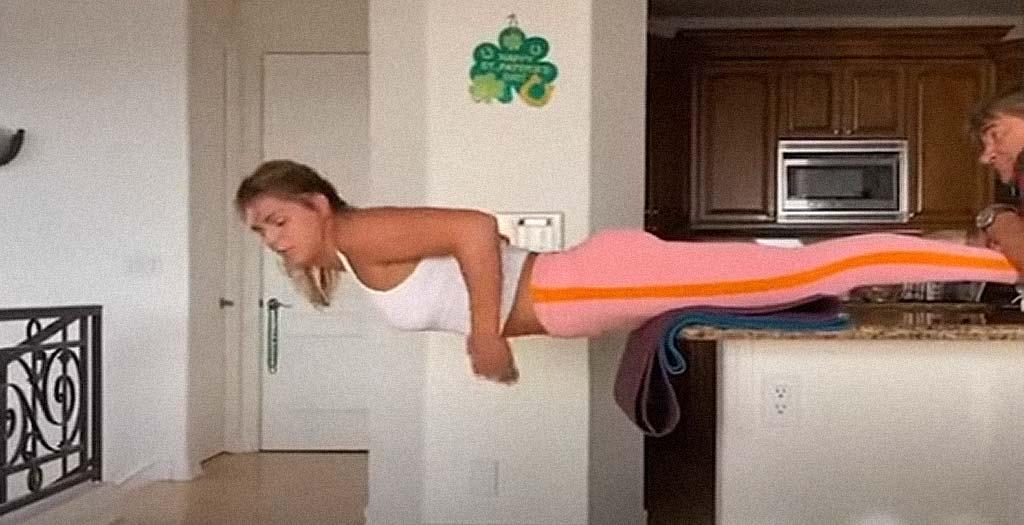 Asi entrena en casa la nadadora Rusa, Julia Efimova 6