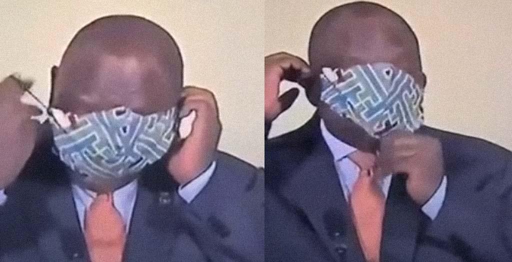 El presidente de Sudáfrica y sus problemas con la mascarilla 20