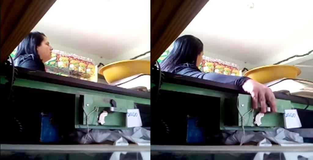 Dueño de una tienda, deja una trampa para cazar a un ladrón 16
