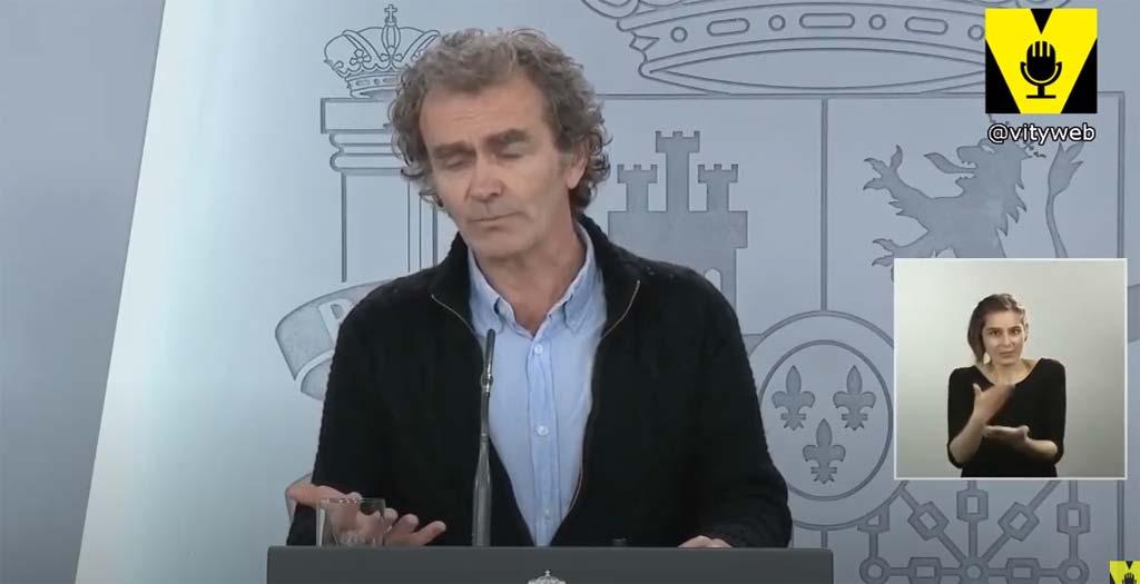 Fernando Simón y los alérgicos al queso, el vídeo del día 3