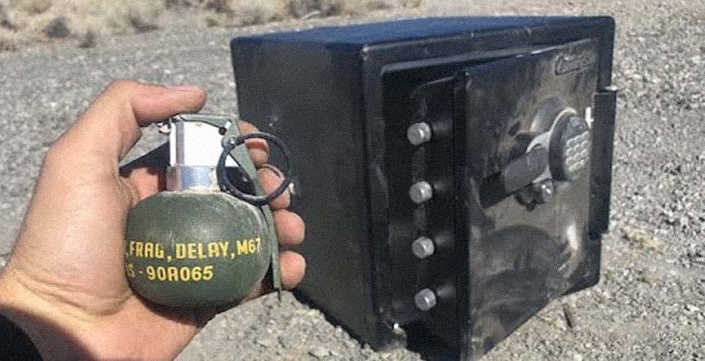 ¿Qué pasa si explotamos una granada dentro de una caja fuerte? 4