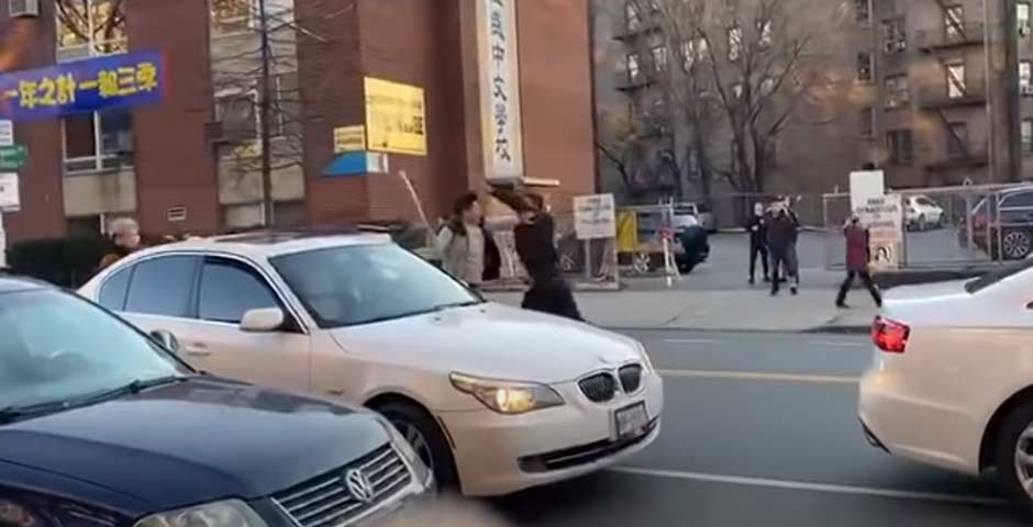 Pelea por un aparcamiento, termina de una manera impactante 2