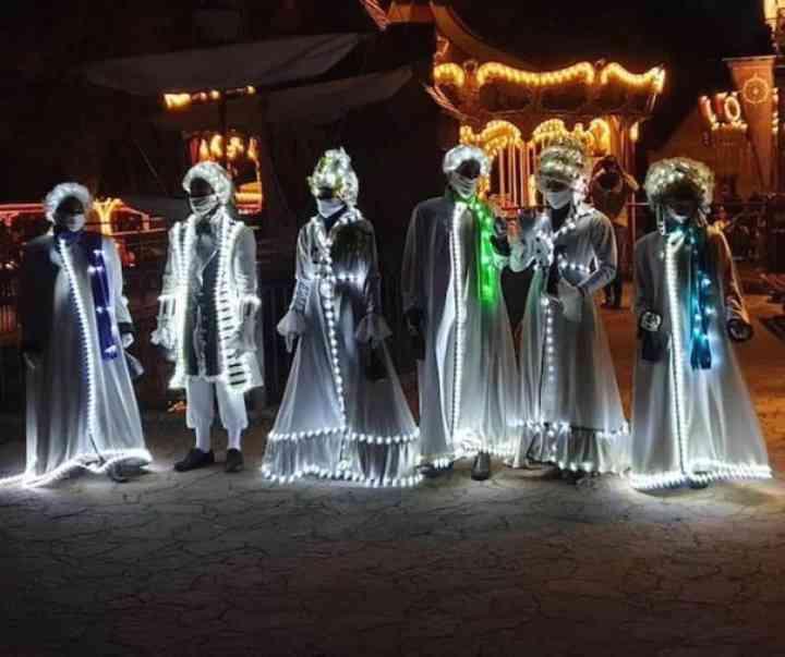 10 Personas que han triunfado con su disfraz este Halloween 5