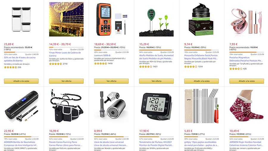 Corre, todavía estas a tiempo de pillar las ofertas flash del día en Amazon 2