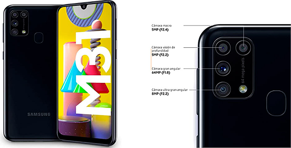La oferta del día: ¡Samsung M31 74€ de descuento! 13