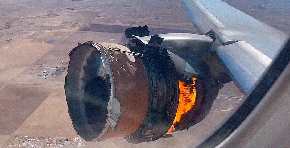 Motor destrozado en pleno vuelo 2