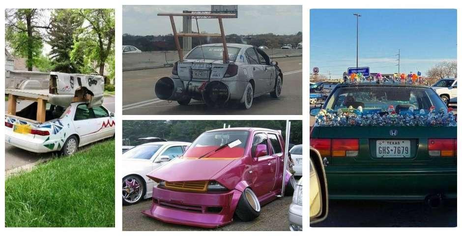 18 Disparatados tuneos de coches que te van a dejar muñeco 1