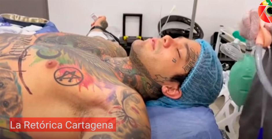 Influencer Colombiano se pone implantes en el pecho tras perder una apuesta 2