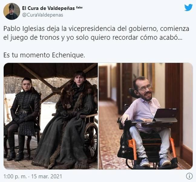 Los memes de la candidatura de Pablo Iglesias por Madrid 3