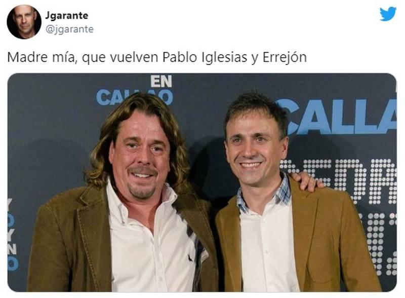 Los memes de la candidatura de Pablo Iglesias por Madrid 11