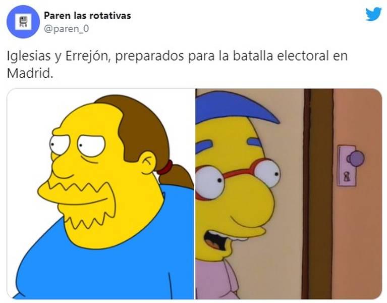 Los memes de la candidatura de Pablo Iglesias por Madrid 12