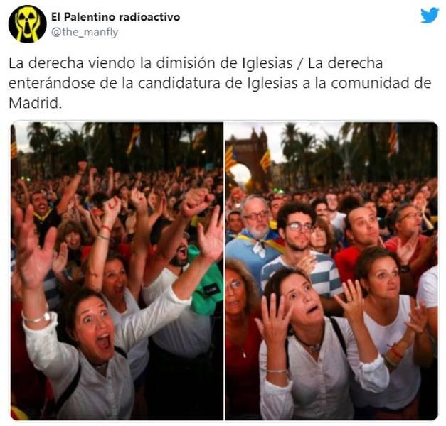 Los memes de la candidatura de Pablo Iglesias por Madrid 13