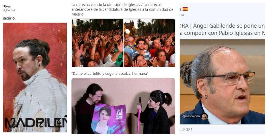 Los memes de la candidatura de Pablo Iglesias por Madrid 8